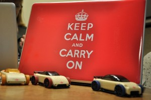 How does errors and omissions insurance protect me - keep calm and carry on sign with toy cars