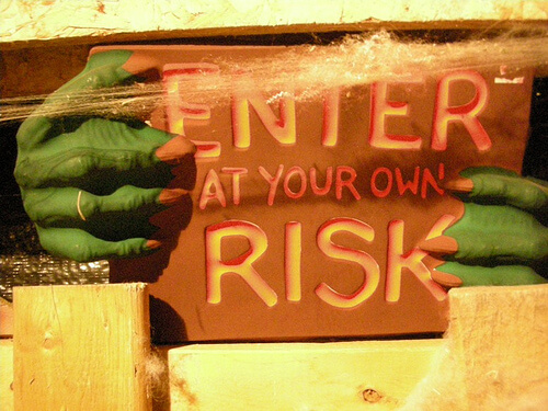 Enter at your own risk! Explore The Bruce