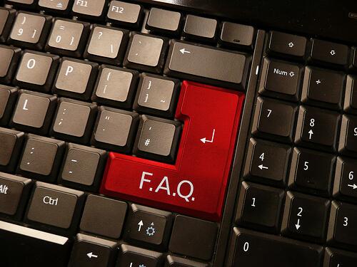 FAQ key on keyboard