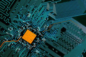 Cyber IT circuitboard computer wiring_Image used under licence from Shutterstock