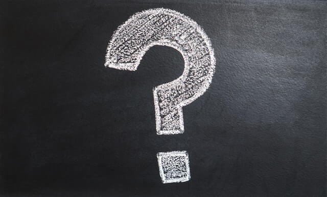 chalk question mark on blackboard difference between professional liability and errors and omissions insurance